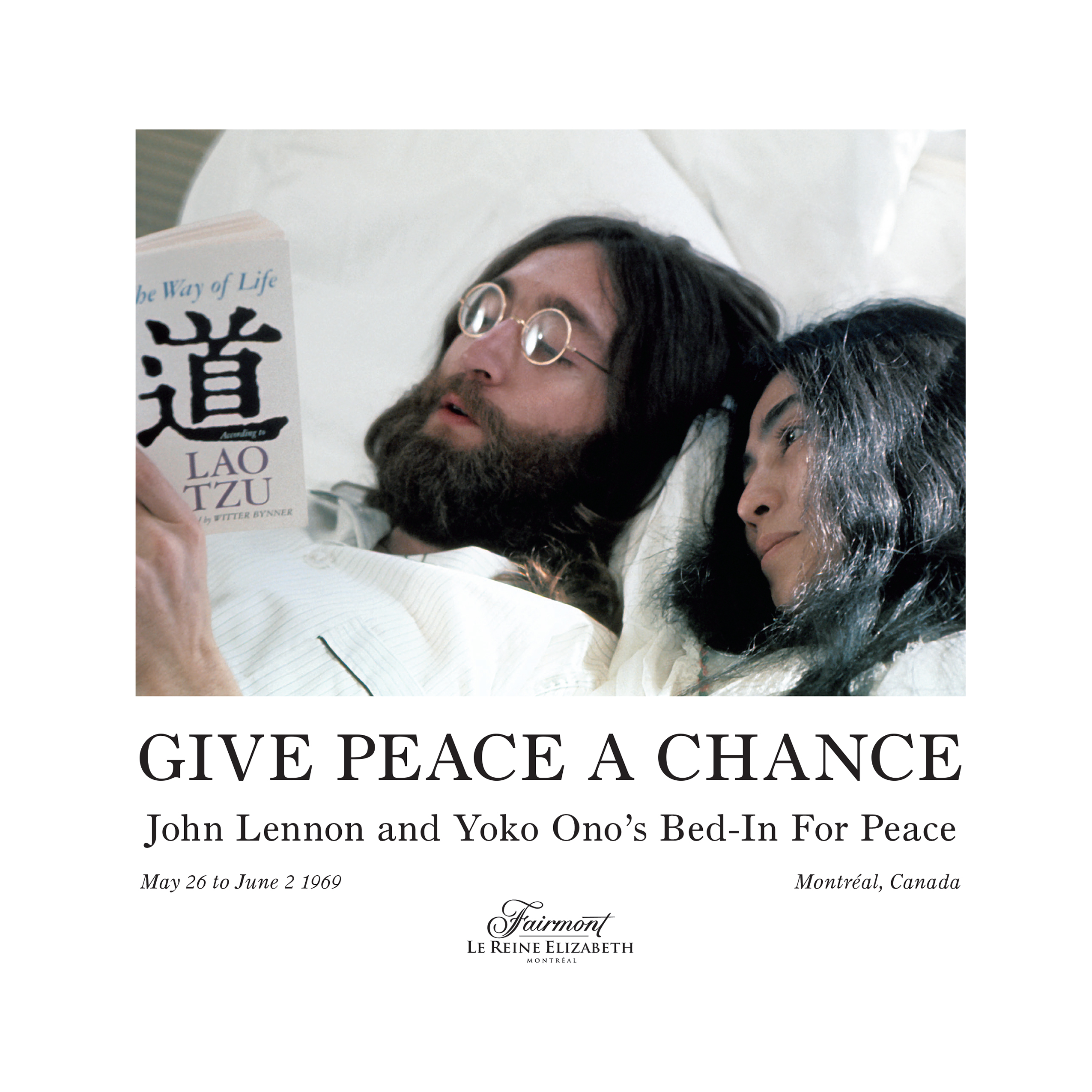 Give Peace A Chance John Lennon And Yoko Ono S Bed In For Peace Spicabookdesign