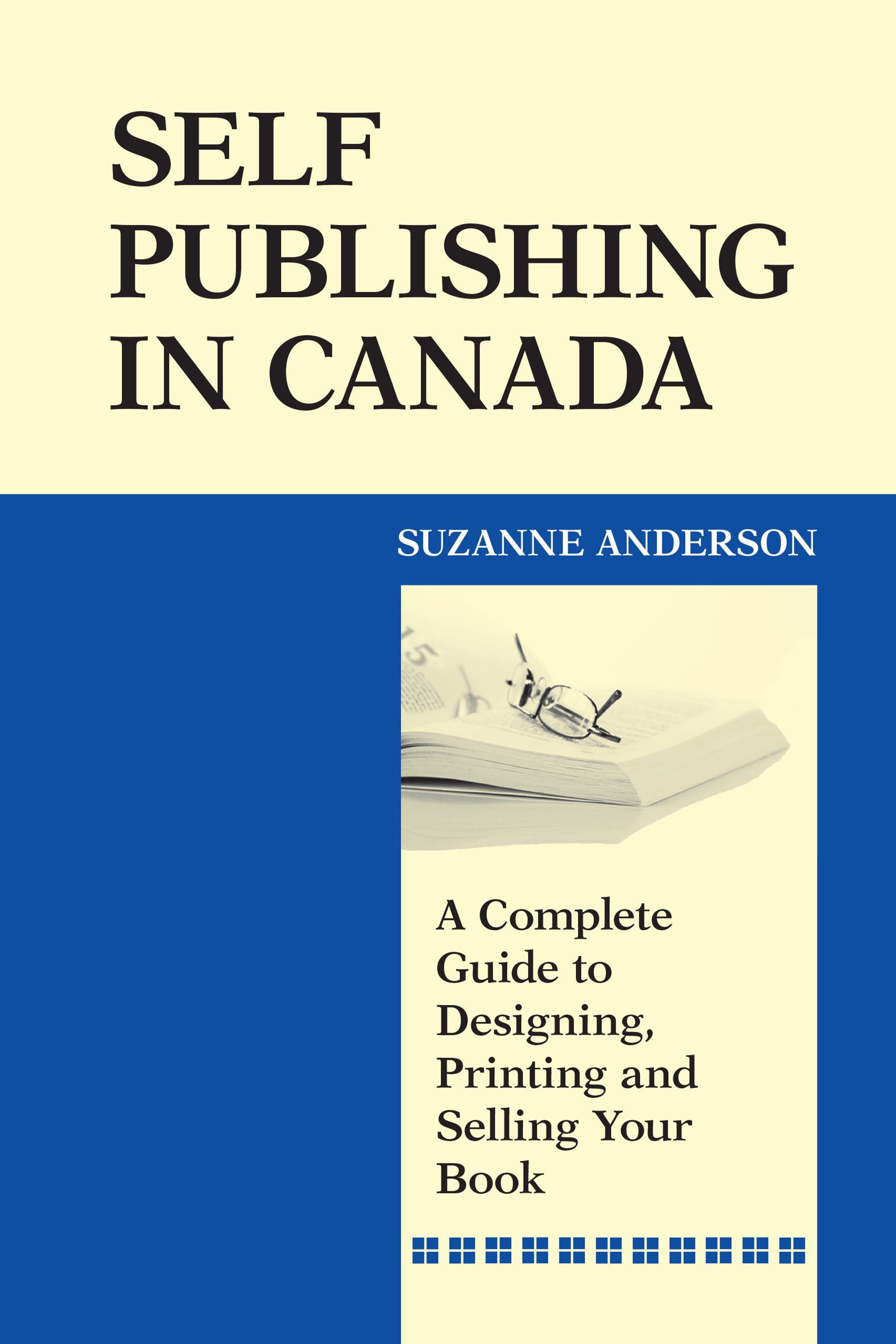 Self-Publishing In Canada by Suzanne Anderson